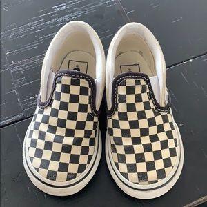 Checker Vans (toddler)